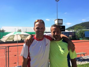 Kategorie 35+ (R5/R7) André Marquetant (SIEGER) - Costantino Fausto